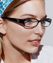 Coach Rimless Eyeglasses